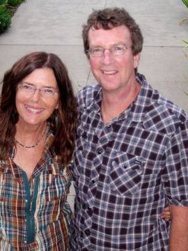 Owner, Greg Keville, with his wife B.B.